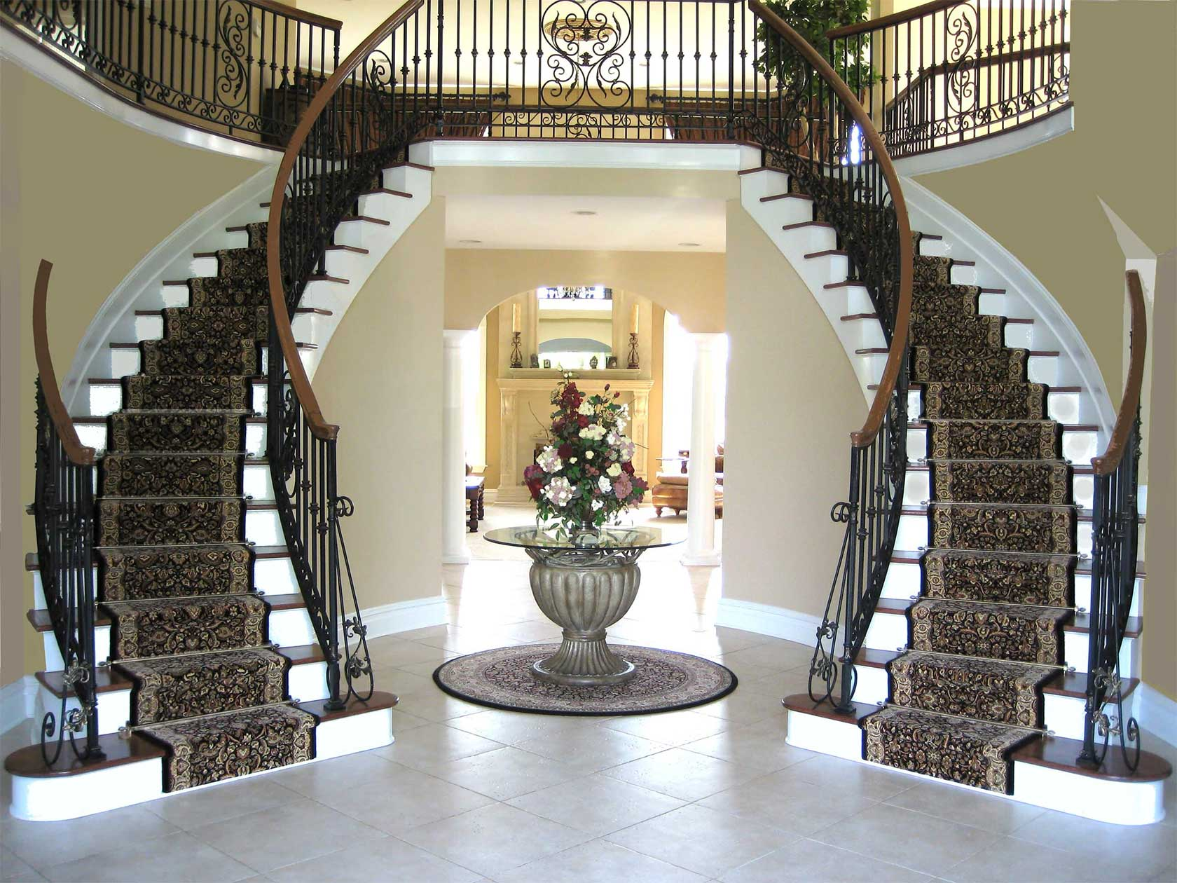 Commercial Arched Staircases