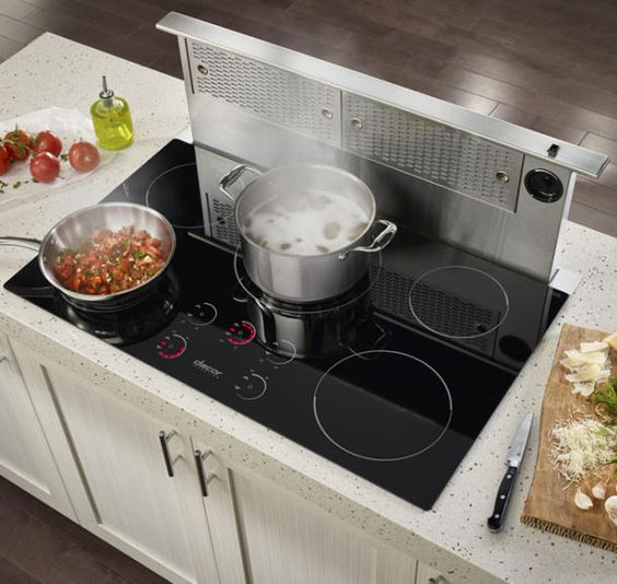 Energy-Efficient Induction Cooktops