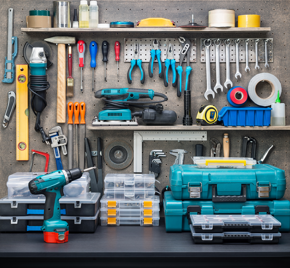 Lock Up Your Tools Inside A Garage Cabinetry