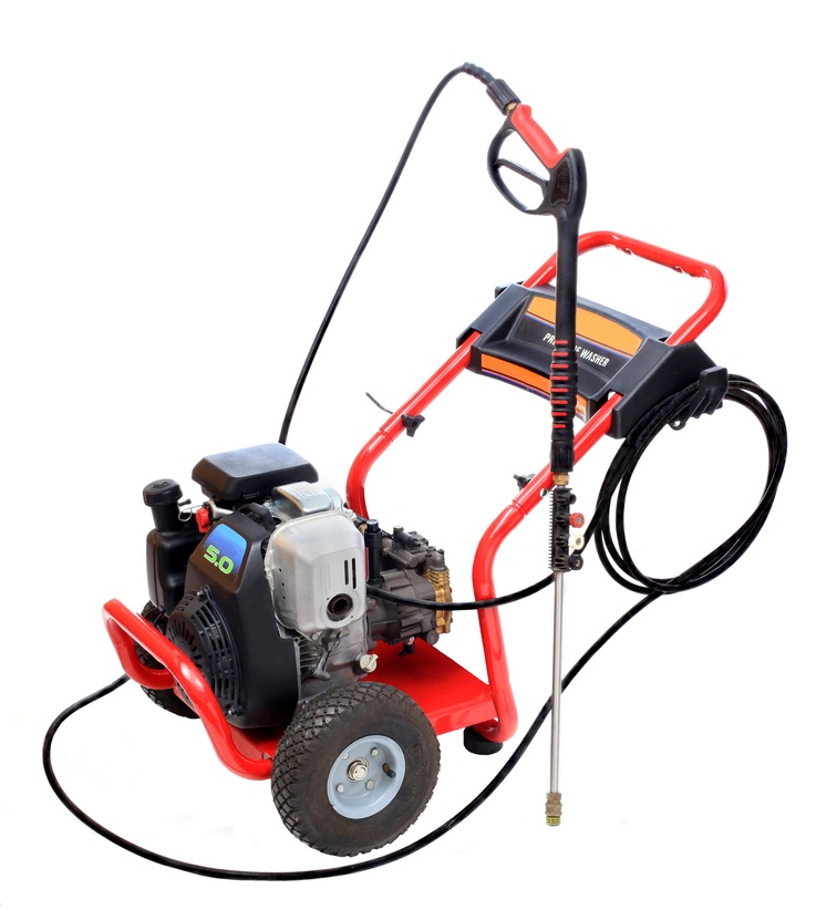 Hot Water Gas-Powered Pressure Washer