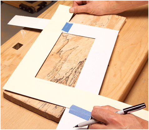 Make The Top And Bottom Wood Panels Of The Jewelry Box