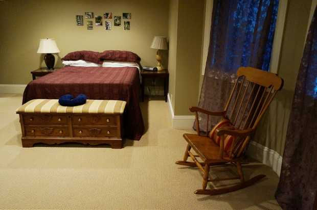 Antique Look Bedroom