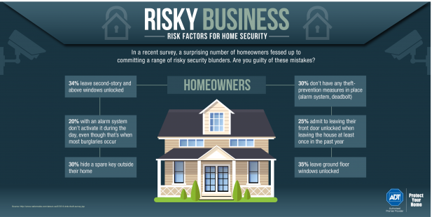 Home Security Risks Infographic