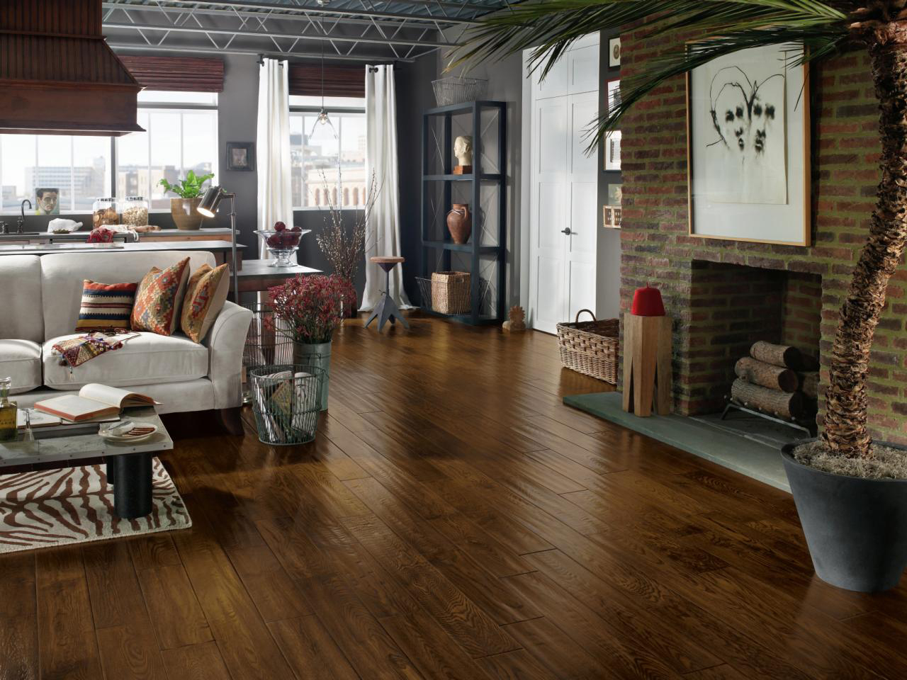 Drawing Room Wooden Flooring