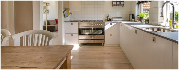 Blond Hardwood Flooring