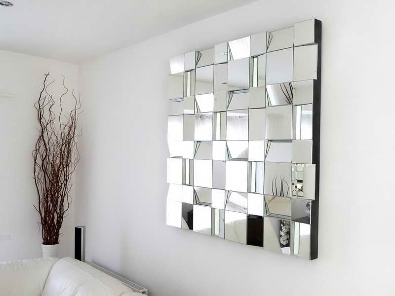 Create The Illusion Of More Space With Mirrors