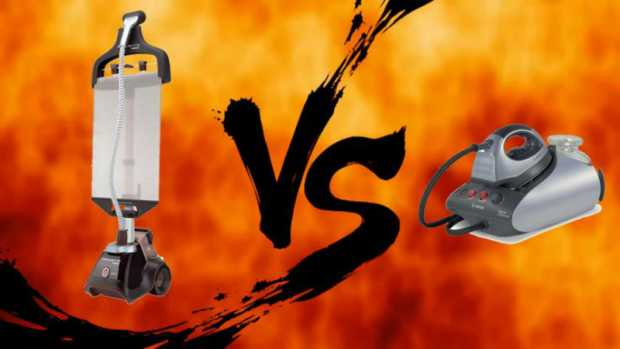 Garments Steamer Vs Steam Iron