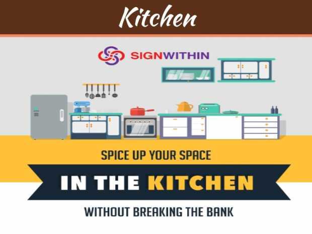 Spice Up Your Space In The Kitchen Without Breaking The Bank