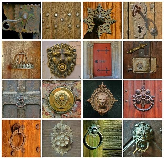 Unique Antique Door Knockers