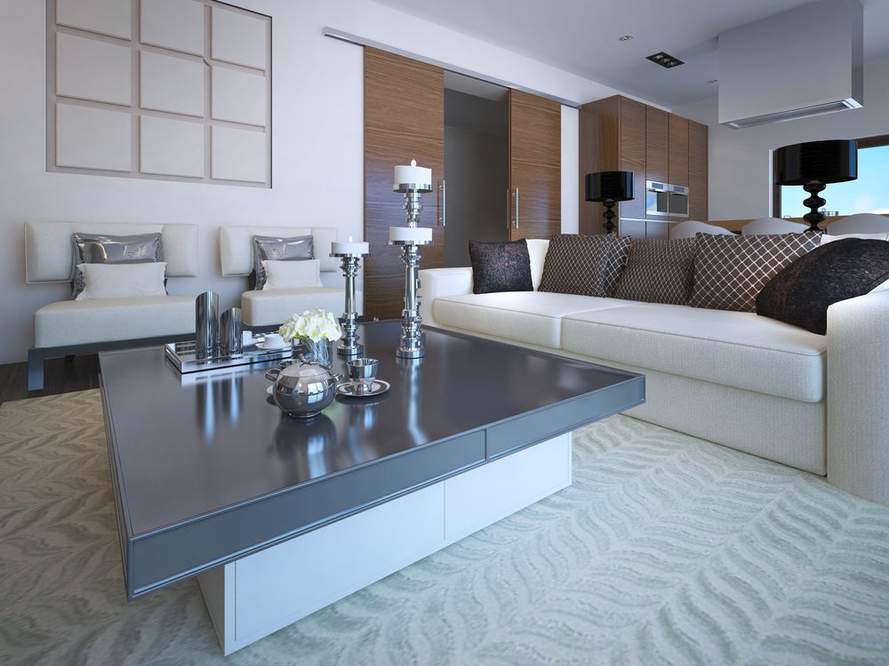 Accessorized Lounge Room