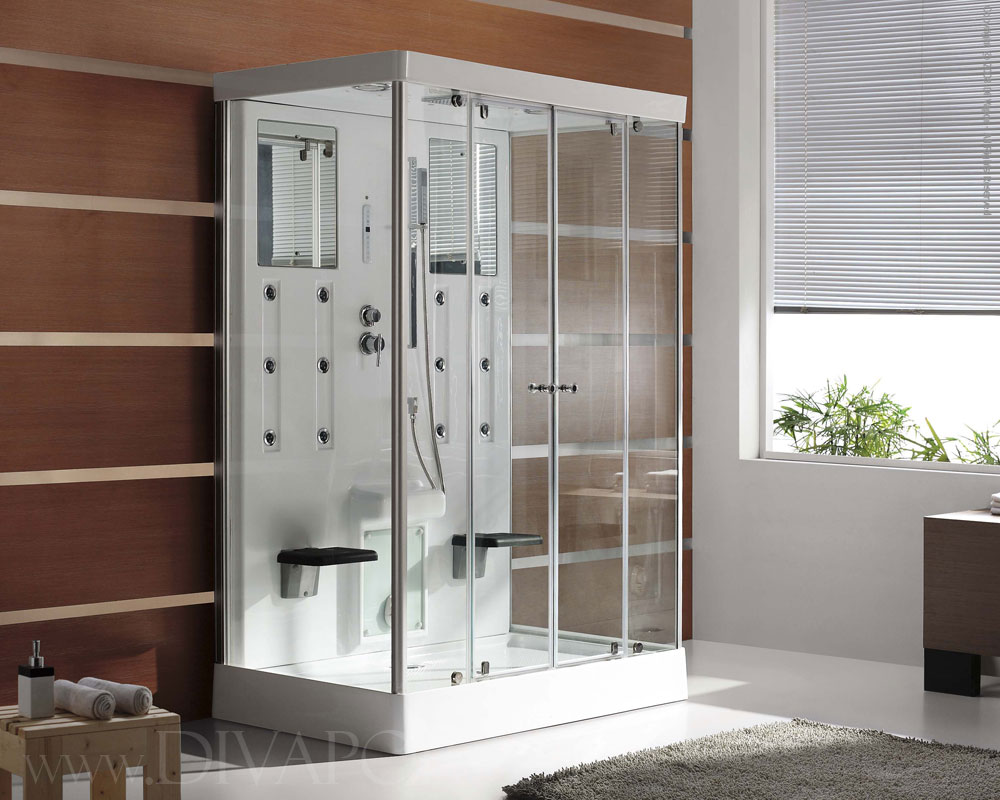 Benefits Of Steam Showers - Image Cabinets and Shower Mandra-Tavern.Com