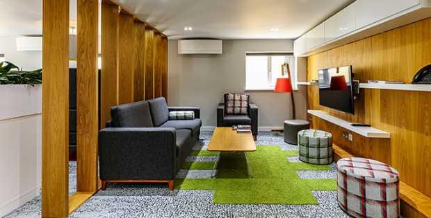 Designated Lounge Areas