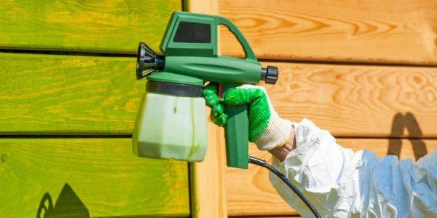 DIY Paint Your House Exterior with An Airless Paint Sprayer