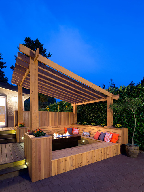 Pergola Paint Ideas