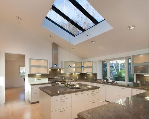 Sloped Kitchen Ceilings