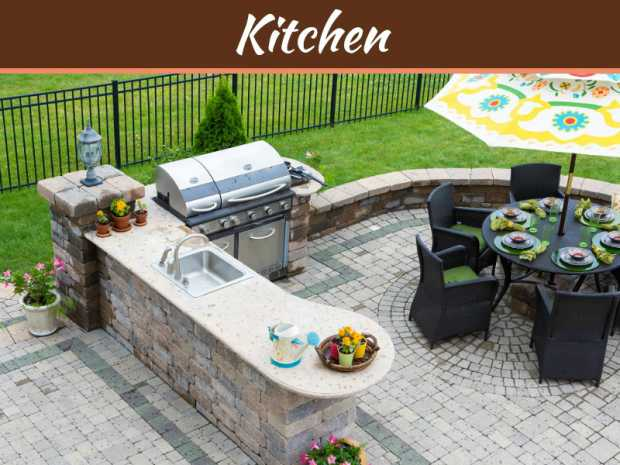 An Outdoor Kitchen - A Dream Kitchen That You Want To Create