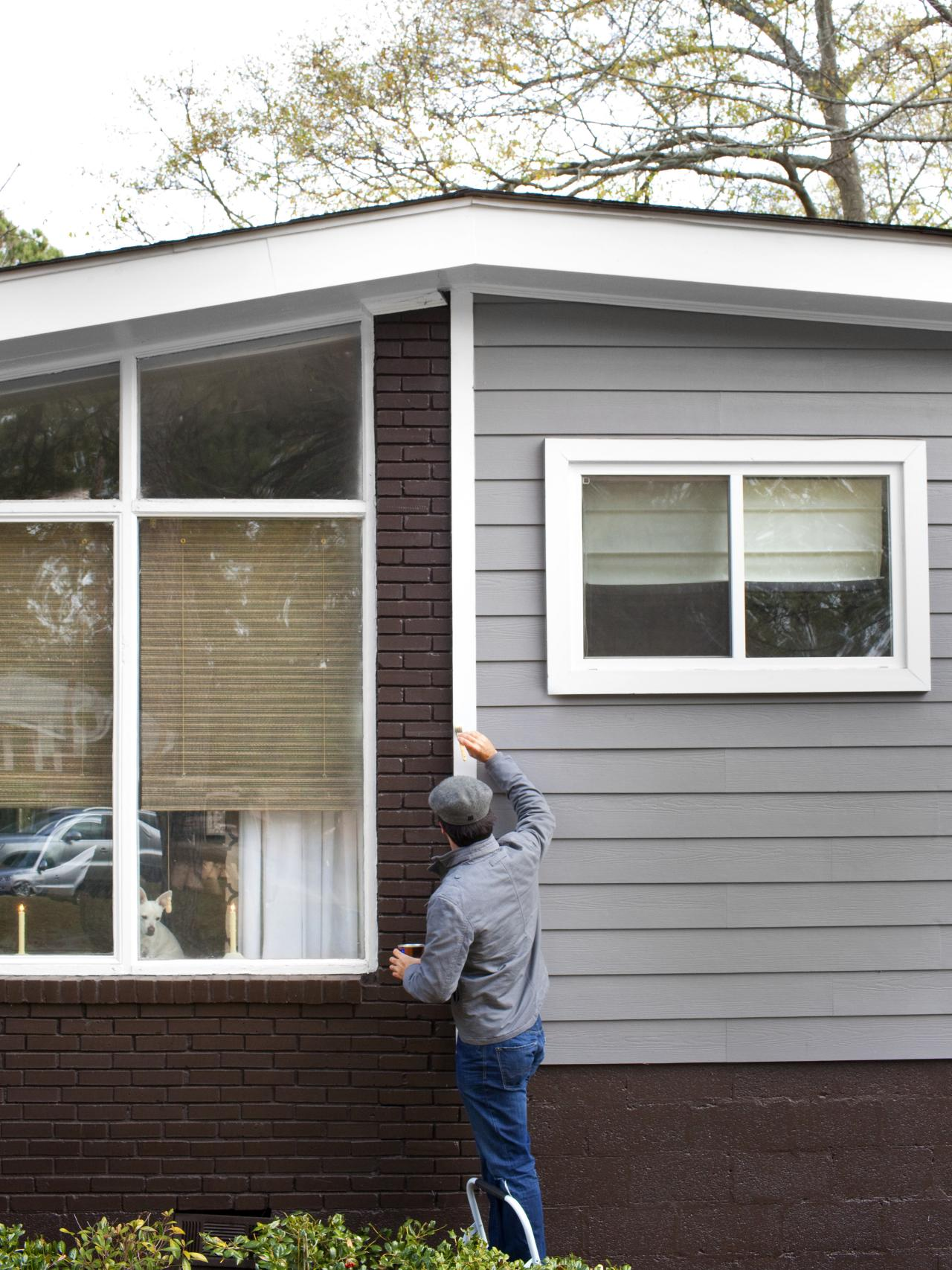 DIY Exterior Home Painting