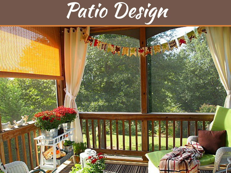 7 Tips For Turning Your Decking Into An Enclosed Patio Space My Decorative