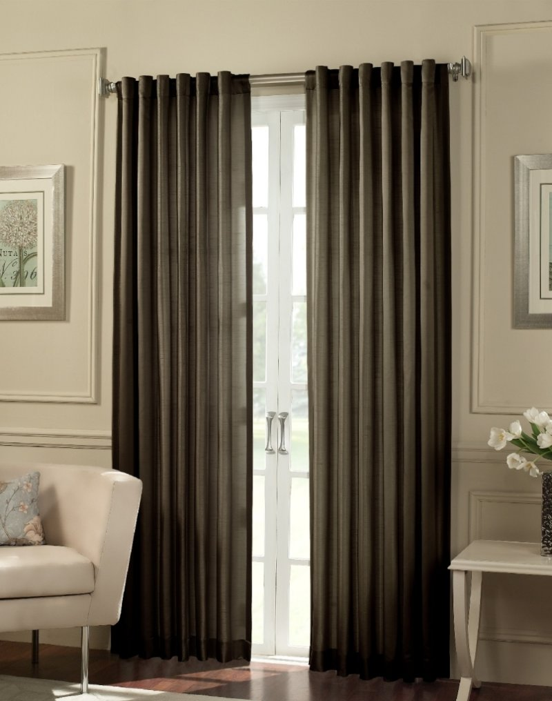 Trendy Living Room Drapes
