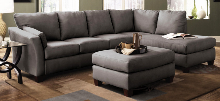 Polyester Macrosuede Sofa