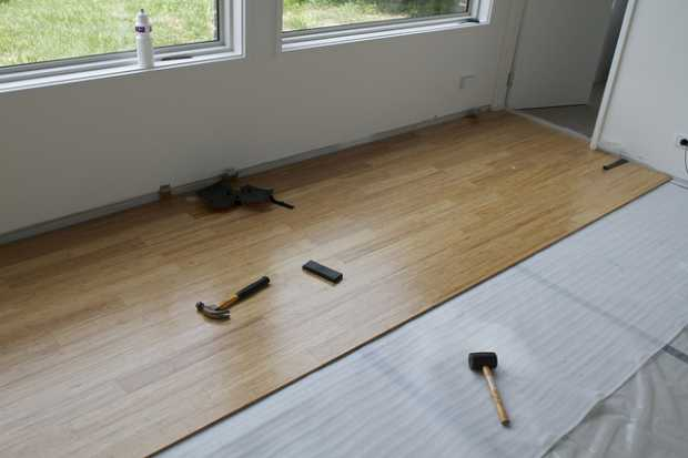 Quick To Install Bamboo Flooring