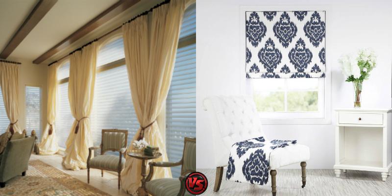 Curtains vs. Drapes