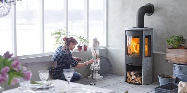 Radiant And Convection Stoves