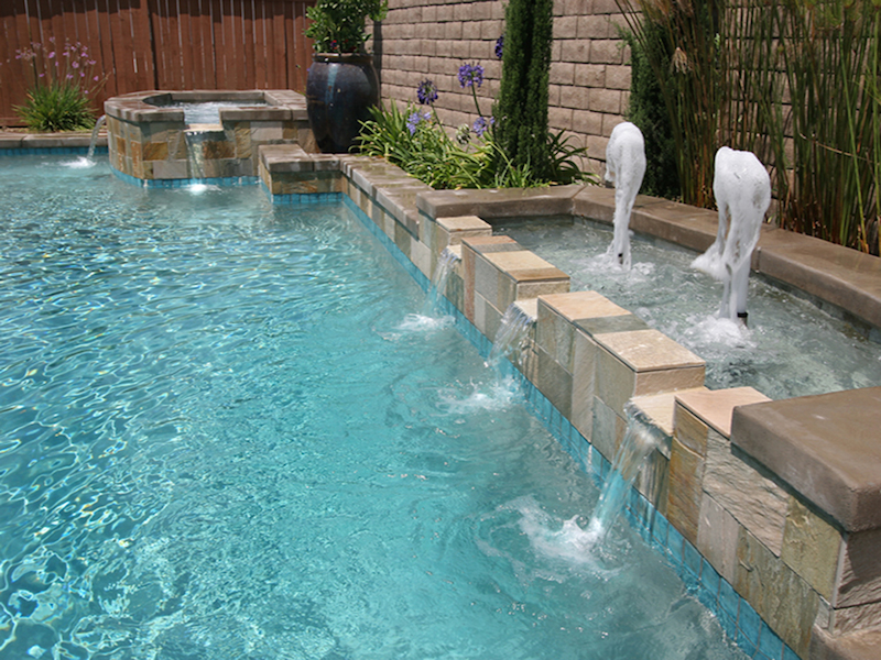 Water Feature Pool Design