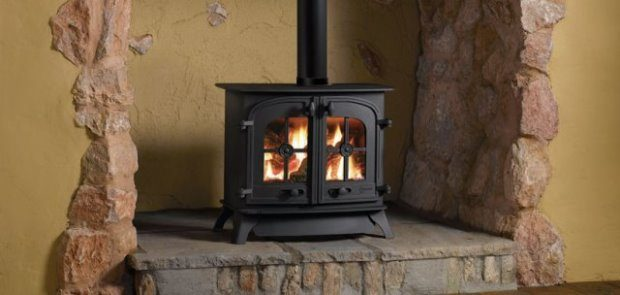 Dartmoor Double Door Flat Top Gas Stove