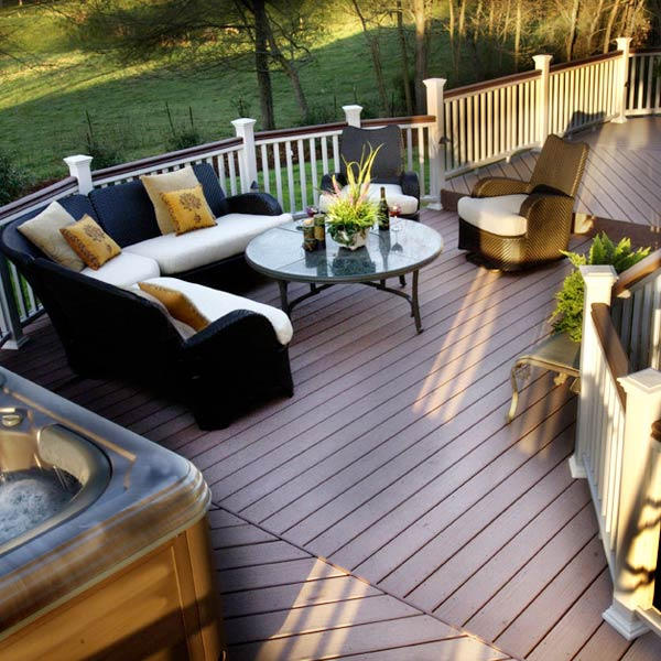 Maintenance of Decking and Patios