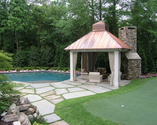 Copper Gazebo
