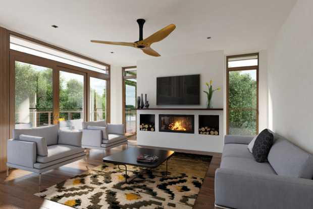 Fireplaces With Fans