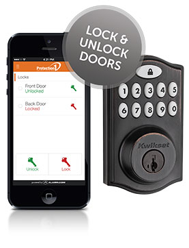 Smartphone Controllable Home Security System