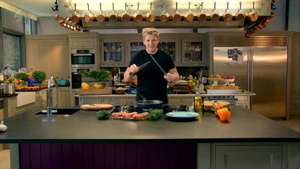 Gordon Ramsay Personal Kitchen Wwwpixsharkcom Images