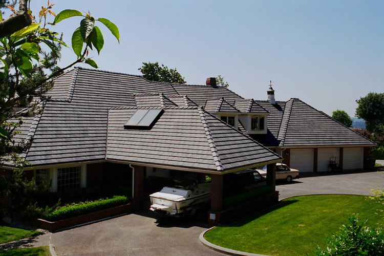 Recycled Shingled Roofs