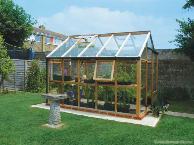 Cedar Growhouse Greenhouse