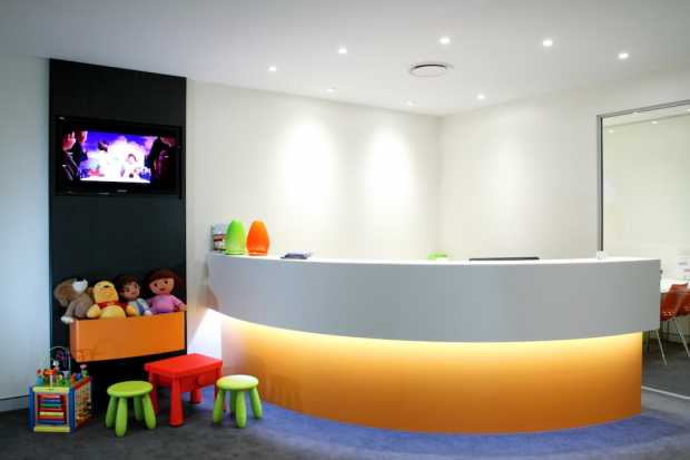 Colorful Dental Clinic Design