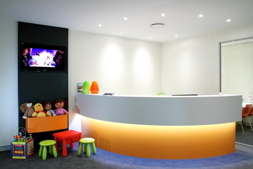 Colorful Dental Clinic Design
