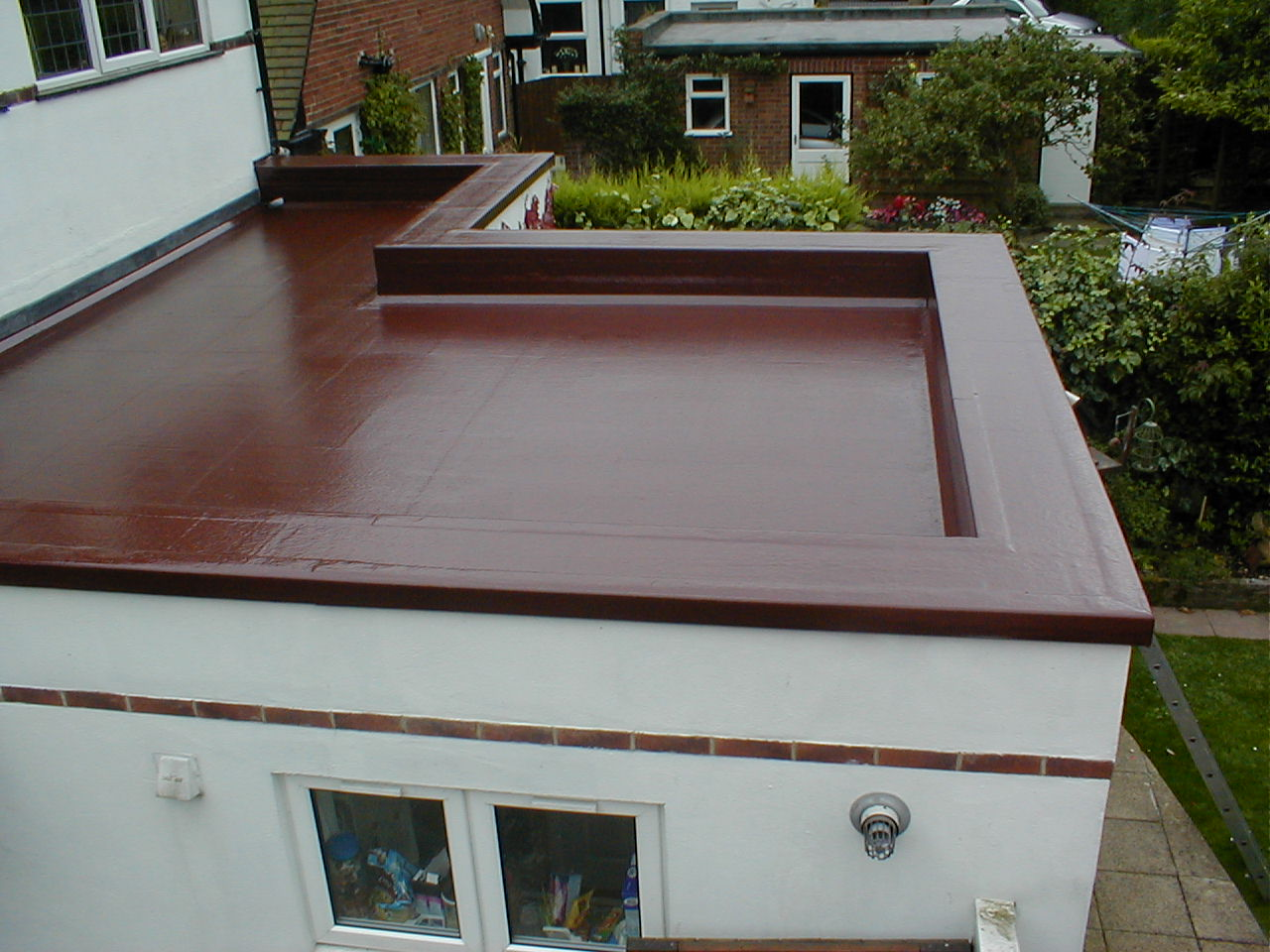 Problems you can face with flat roof my decorative for Concrete flat roof house plans