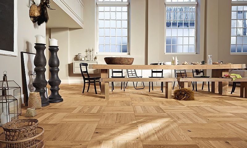 Parquet Timber Flooring