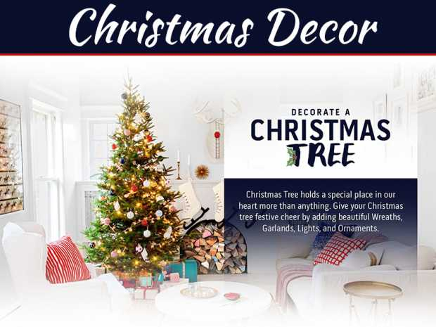 11 Fun And Festive Christmas Decoration Ideas - Infographic