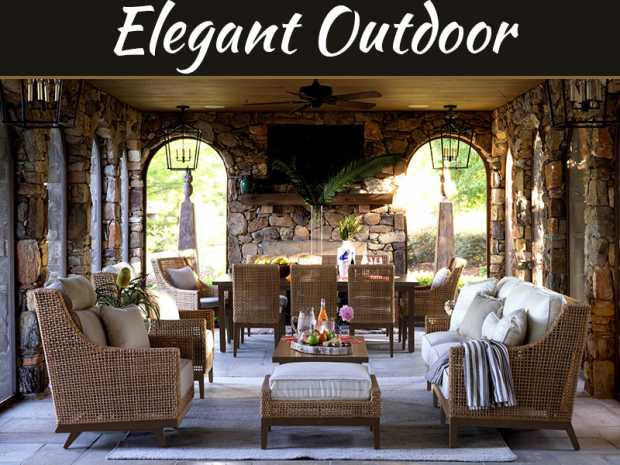 5 Tips To Creating An Elegant Outdoor Space