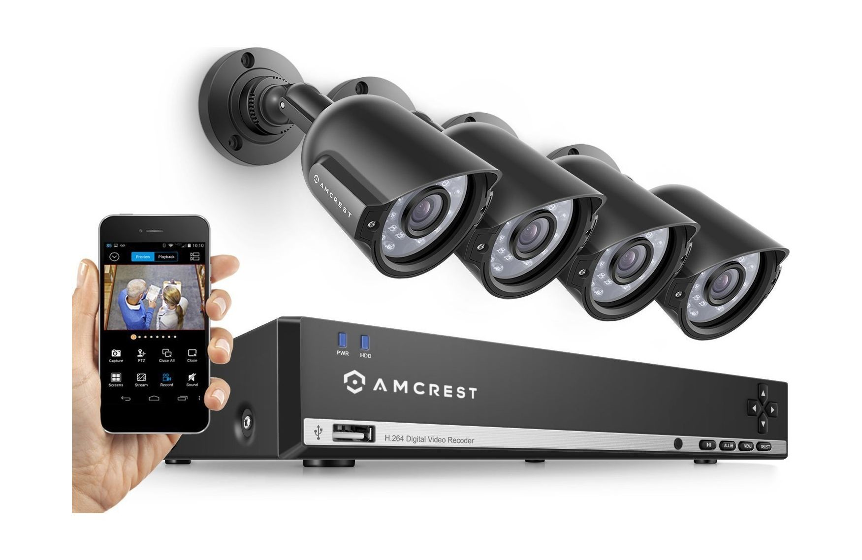 Amcrest 960H Security Camera System