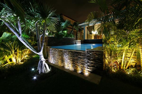 Garden Light Installation