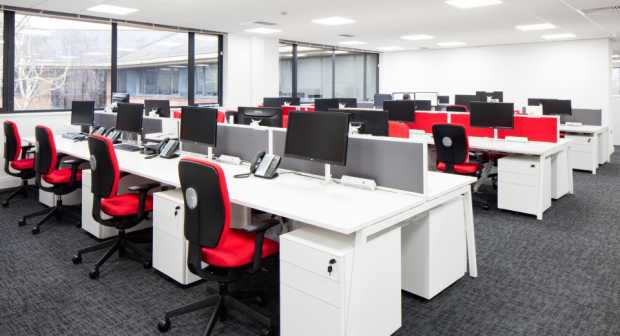 Office in Daylight
