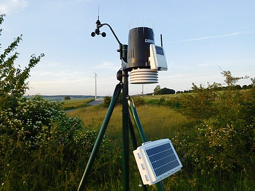 Solar Powered Weather Stations