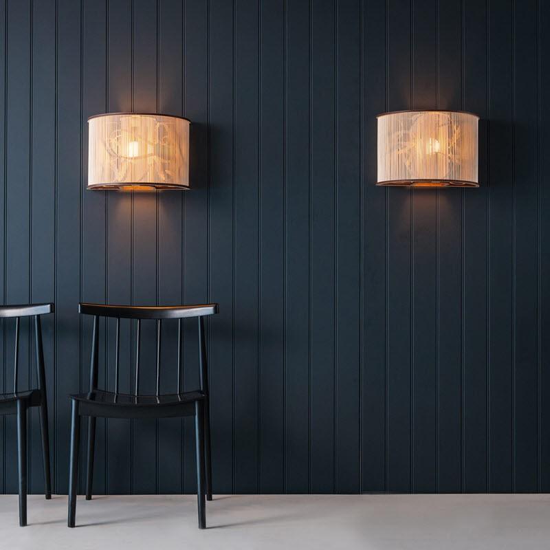 Tom Raffield Cage Wall Light