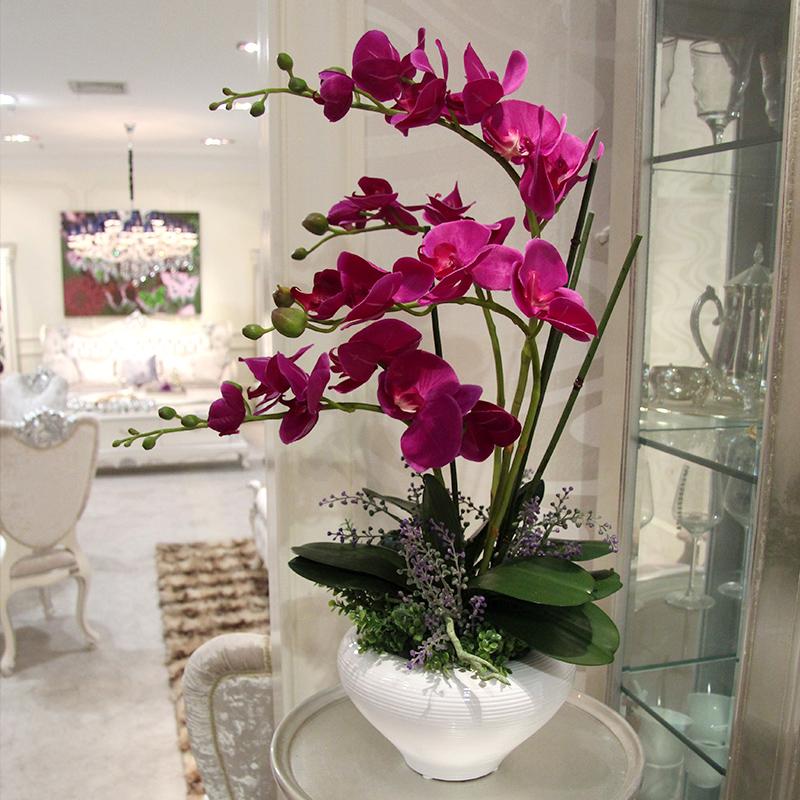 My Decorative Big Artificial Flowers Orchid Arrangements