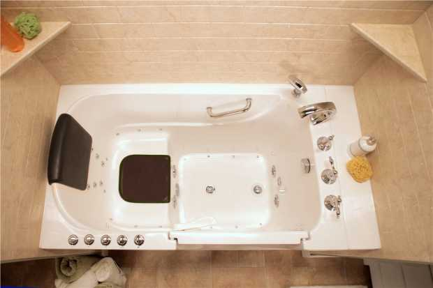 Install a Walk-in Tub for Comfort