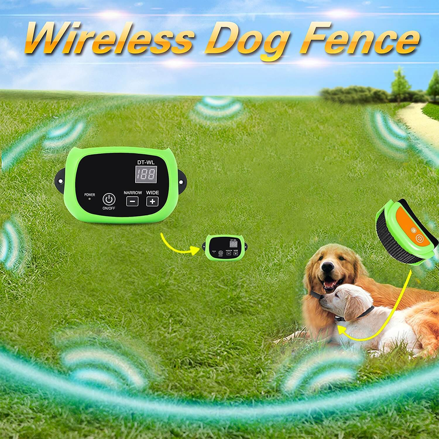 Wireless Dog Fence for Home and Field Usage